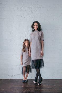 Платье-баллон с карманами