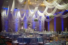 Extravagant wedding reception at Rosen Plaza in Orlando, Florida Orlando Wedding, Hotel Wedding, Wedding Day, Let's Get Married, Places To Get Married, Extravagant Wedding Decor, Carnival Breeze, Wedding Receptions, Social Events