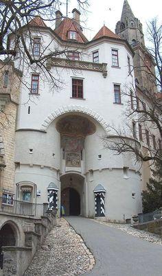 The main gateway ~ Sigmaringen Castle, Germany