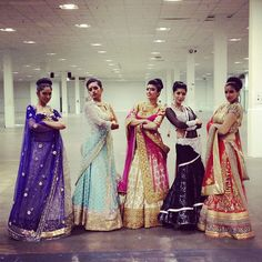 Snap, that was SO MUCH FUN!! Thanks to everybody who came to say hi at our booth! #ctcwest #bollywood #bgirls #kismetweddingshow