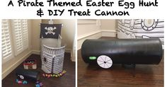 Pirate Easter and Candy Cannon DIY Project! #Cannon #Pirate