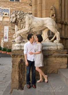 Piazza della Signoria - Photos of Honeymoon in Florence