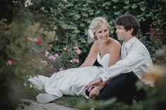 Matt Shumate Photography at Arbor crest winery bride and groom portrait