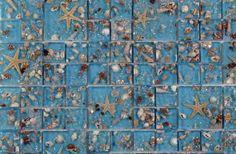 Natural Decor® Sea Mosaic | Archeo Ceramica: Resin/Sea shell inlay mosaic tiles