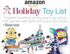 Amazon Holiday Toy List 2013 is Here