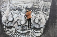 What is street art? What Is Street Art, Urban Art, Lion Sculpture, Statue, London, World, Artist, City Art, Street Art