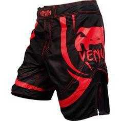 Venum Electron 2.0 Red Devil Fight Shorts,Black/Red