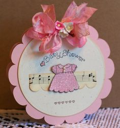 Sincerely Yours: Sweet Baby Invites with Pink Persimmon