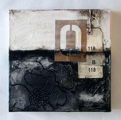 "ORIGINAL CANVAS - ""Industrial Marigold #3"" | Donna Downey Studios Inc"