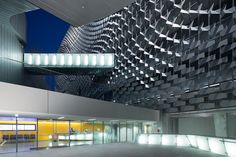 Emerson College, Los Angeles, CA (Architect: Morphosis) Photo: Iwan Baan #Morphosis #architecture