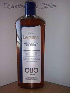 Shampoo Keratina $4.500. Utilizar en reemplazo del acondicionador.