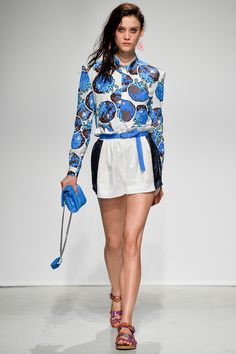 Julien David Spring 2014 Ready-to-Wear Collection Slideshow on Style.com