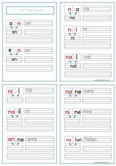''n'' Harfi Hece Oluşturma ve Yazma Etkinliği renkli harflerle 4 sayfa şeklinde pdf formatında eklenmiştir. İyi çalışmalar… Sitedeki Tüm çalışmalarımı kendi emeğimle özgün olarak hazırlıyorum…..