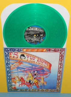 the ADICTS sound of music LP Record GREEN Vinyl , punk , Taang records