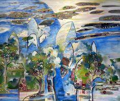 the first dream, Randi Antonsen Money Laundering, Brush Strokes, The One, Surrealism, Buy Art, Creatures, Paintings, Canvas, Artwork