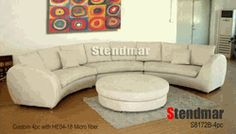 Modern Round Sectional Couch
