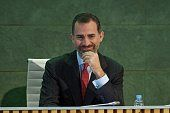 JANUARY 16: King Felipe VI of Spain attends the CODESPA awards 2015 at the Rafael del Pino auditorium on January 16, 2015 in Madrid, Spain.