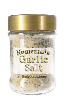 Homemade Garlic Salt