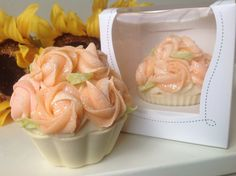 Valentines day Mothers day Cupcake soap by DivineSoapyDelights, $7.49