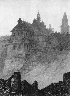 """Leon Wyczółkowski """"Lublin"""""""