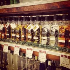 We've discovered the holy grail... Goody Goody @ Inwood might have the most #InfuseVodka in the country!