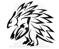 028 Tribal Sandslash by ShadowKira on DeviantArt Tribal Pokemon, Tribal Art, Tribal Tattoos, Tattoo Ideas, Deviantart, Ink, Drawings, Cute, Books