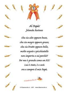 Poesie per la Festa del papà Remembrance Tattoos, Found Poetry, Free Cross Stitch Charts, Daddy Day, Italian Language, Rainbow Heart, Cross Stitching, Fathers Day, Coloring Books