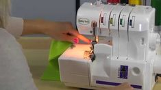 Watch as Stephanie Struckmann shows you how to thread your Baby Lock Lauren serger for a 4-thread Overlock Stitch. Watch and learn more about the Baby Lock L...