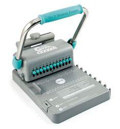 We R Memory Keepers - The Cinch Bindery Tool - Version 2 The Cinch, Wire Binding, Book Binding, Scrapbooking Machine, Mini Albums, Page Protectors, Copy Paper, Heidi Swapp, We R Memory Keepers