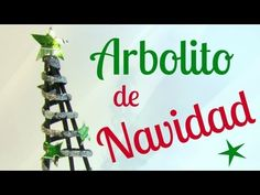 Arbolito navideño. Christmas Crafts For Kids, Christmas Decorations, Christmas Tree, Christmas Ornaments, Holiday Decor, Quilling, Recycling, Messages, Projects