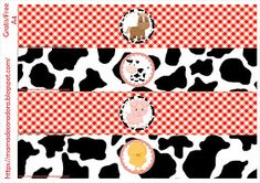 Mamá Decoradora: Kit Imprimible La Granja Gratis Farm Animal Birthday, Farm Birthday, 2nd Birthday Parties, Barn Animals, Farm Party, Farm Theme, Ideas Para Fiestas, Animal Party, Snoopy