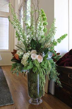 {evan and ben } may 9 Large Flower Arrangements, Vase Arrangements, Wedding Centerpieces, Wedding Decorations, Table Decorations, Lotus Flower Pictures, Wedding Isles, Tall Vases, Flower Designs