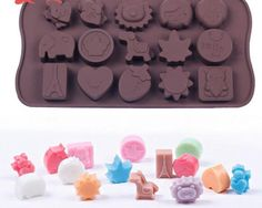 ALVA Home 15 even in the middle Trojan Silicone Chocolate Moulds 5pcsno.CM76 => If you love this, read review now : Small Pastry Molds