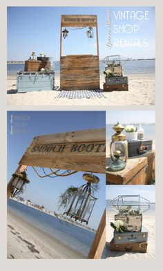 Lauren Sharon Vintage Shop Rentals - Home mermaid, beach, wedding, castaway, blue, rustic, romantic, trunks, sea glass, driftwood, lanterns, seaweed, little mermaid, lanterns, nautical