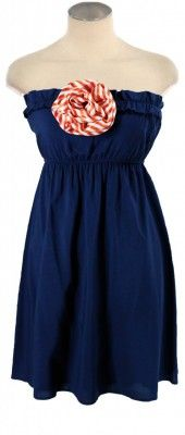 The Caroline Dress. Love Judith March-I dont own anything strapless, but this is cute
