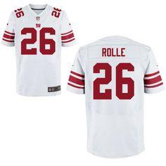 Mens New York Giants Nike White Customized 2014 Elite Jersey