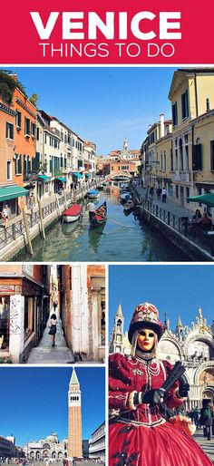 Venice | Things to do and How to Travel Italy by Train | via @Just1WayTicket