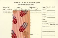 Oval and stripe print on cotton. November 19, 1890.
