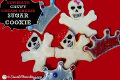 Recipe: The Best Cream Cheese Cut-Out Sugar Cookies EVER | Seven Little Monkeys