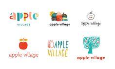 Découvrez sur www.papiers-urbains.fr l'univers créé par Jess Levitz pour Apple Village@June Letters Studio