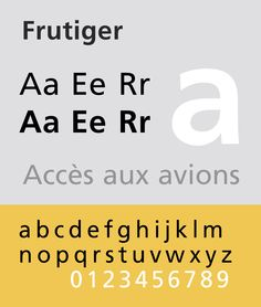 Adrian Frutiger - 1975 // Humanistic Sans-Serif Font // Swiss Road Signs, LSE, Cornell University, University of Lausanne