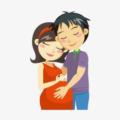 вектор беременных женщин с ребенком, вектор, ребенок, беременных женщинPNG и вектор