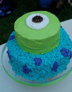 mike & sully cake