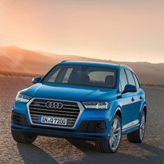 Pics of the new Audi Q7. A very angular design from Audi! #carleasing