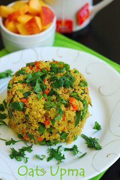 Healthy Yummy Breakfast, Snack | Oats Upma | South Indian Recipe