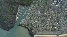 Hard to believe that these satellite photos are actually in-game screenshots from Cities:Skylines!