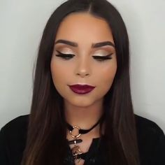 146 amazing party makeup looks to try this holiday season – page 26 Party Makeup Looks, Fall Makeup Looks, Glam Makeup Look, Gorgeous Makeup, Cat Eye Makeup, Contour Makeup, Lemy Beauty, Blaues Make-up, Sparkly Makeup