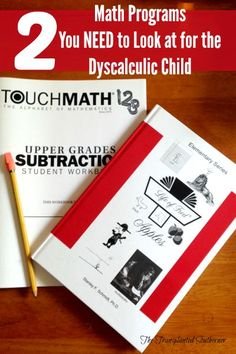 The Transplanted Southerner: Two Math Programs You NEED to Look at for the Dyscalculic Student
