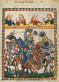 Codex Manesse (Herzog) von Anhalt - Buhurt – Wikipedia