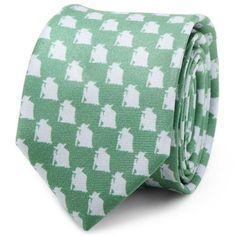 Star-Wars-Yoda-Green-and-Grey-Skinny-Tie-Free-Shipping